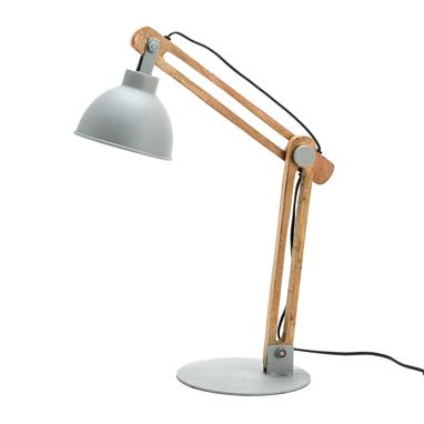 Burg taupe table lamp