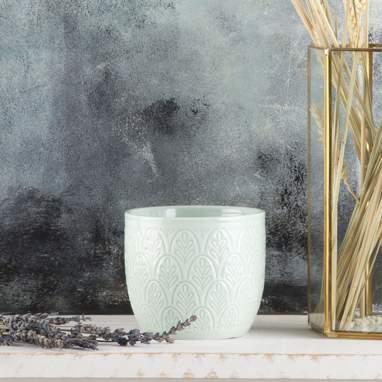 Tazz vaso piante azzurro
