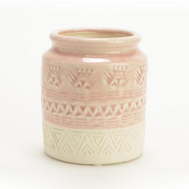 Yam vase maya rose