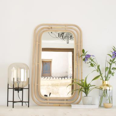 Med rectangular mirror