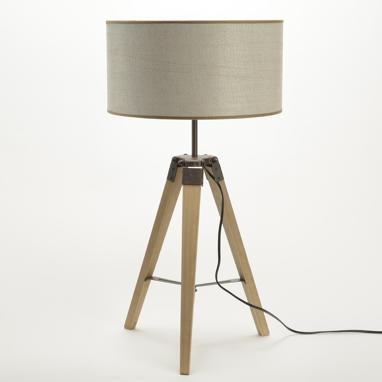 Depy lampara tripode h 68 cm