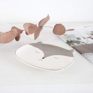 Mishi bandeja portaobjetos ceramica
