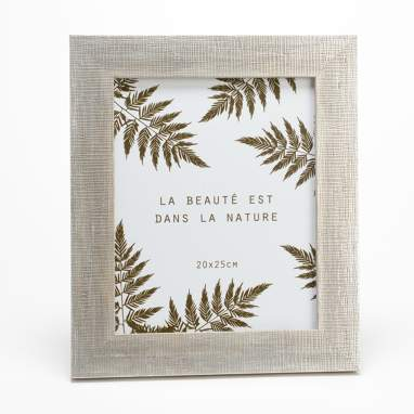 Leno leaf photoframe