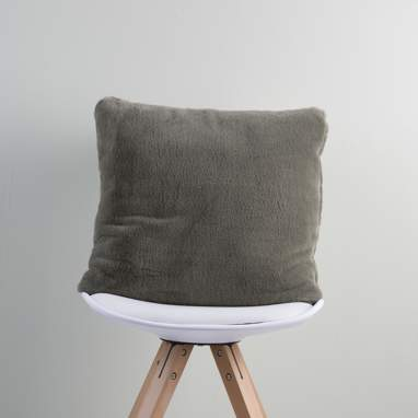 Mati anthracite cushion