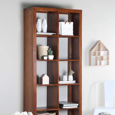 Siam teak vertical shelf