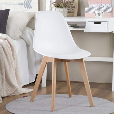 Beky cadeira branca