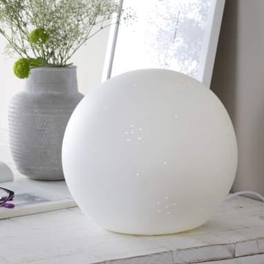 Pame lampara esfera porcelana