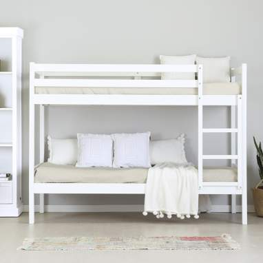 Baikal white bunk bed