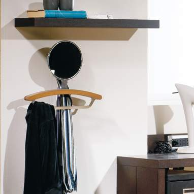 T-visto toffee clothes rack