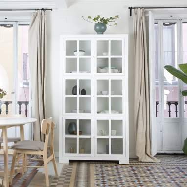 Tribeca glass cabinet