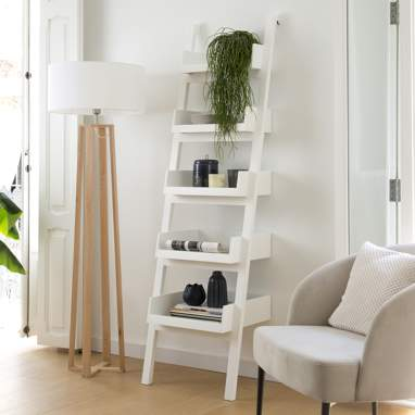 Bassay white shelves 53