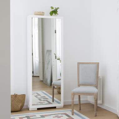 Asue meuble à chaussures blanc
