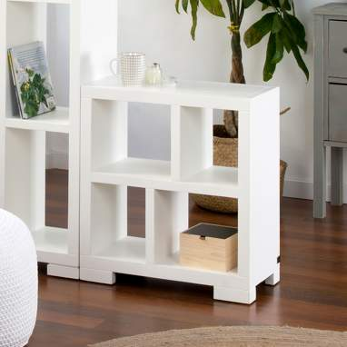 Tamil white shelf 60x60