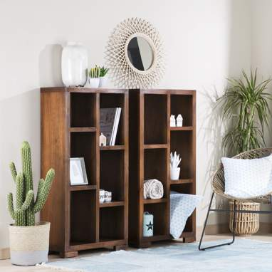 Tamil teak shelf