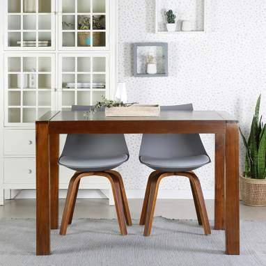 Misool table à rallonges 120/170 teck
