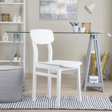 Leia silla blanca