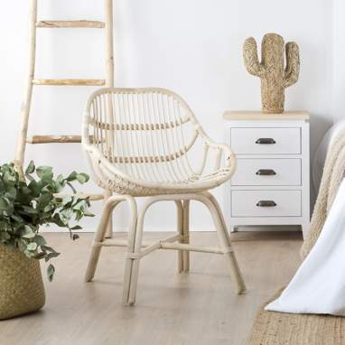 Pitu chaise rotin naturel