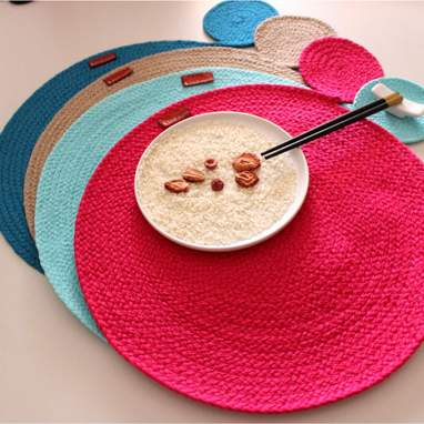 Erhy single tablecloth w/coaster