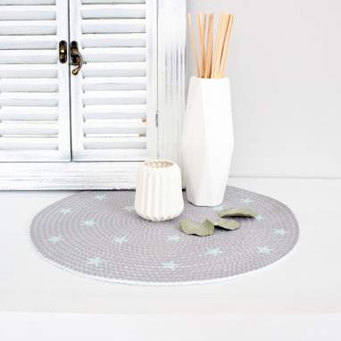 Narine small stars table mat