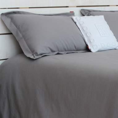 Linen couvre-lit housse