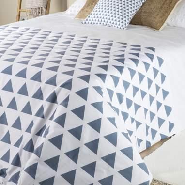 Pyram blue bedspread 240x260
