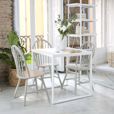 Vianca ivory white table 80