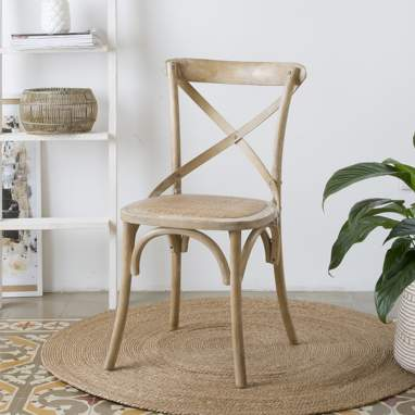 Bihar natural antique chair