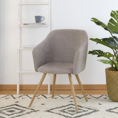 Brando fauteuil taupe