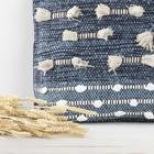 Jins cojin algodon 60x60 azul