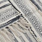 Dana alfombra algodón 230x160 blanco