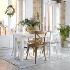Minerva white gala folding table 130/190x45/90
