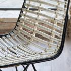 Leth natural rattan chair