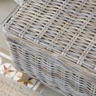 Neka grey rattan auxiliary piece /grey rattan auxiliary table