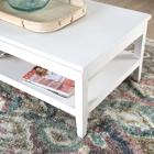 Mayen ivory white coffee liftable