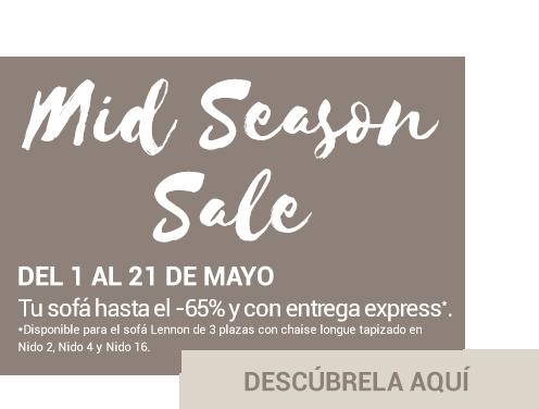 Mid Season Sale sofás